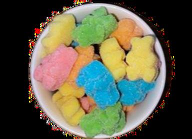 Sour Neon Gummy Bears