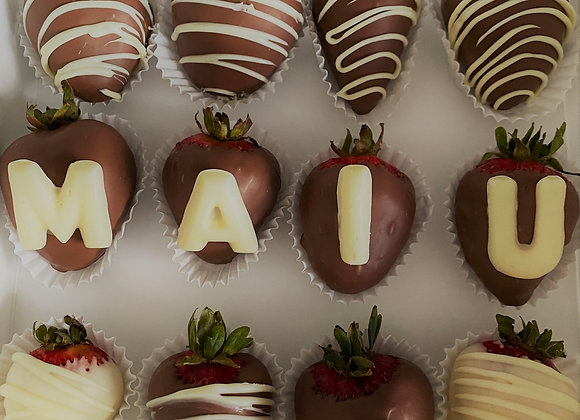 Personalized Chocolate Strawberries (PU ONLY)