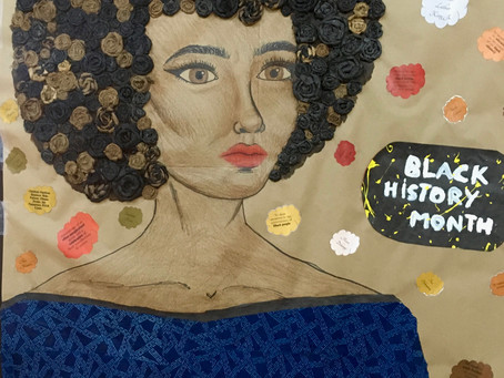Library News: Mural for Black History Month