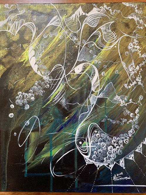 """""""Subtle Vibration"""" Painting"""