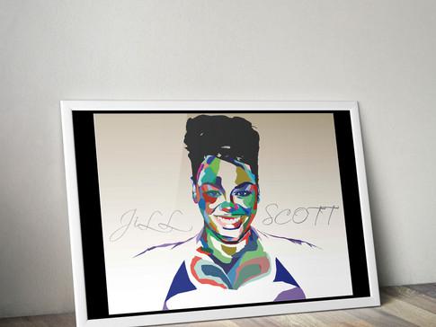 Jill Scott Art