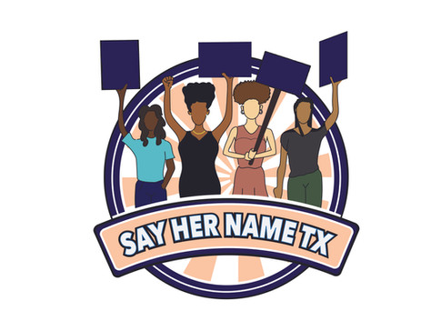 Say Her Name TX New logo