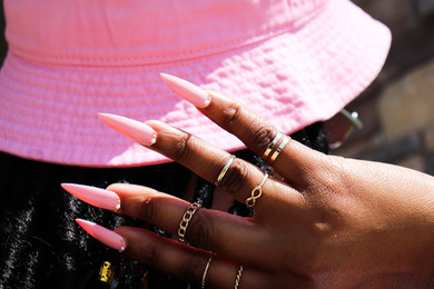 Pink Nail Collection
