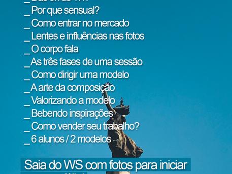 Workshop de direção de modelos em São Paulo!