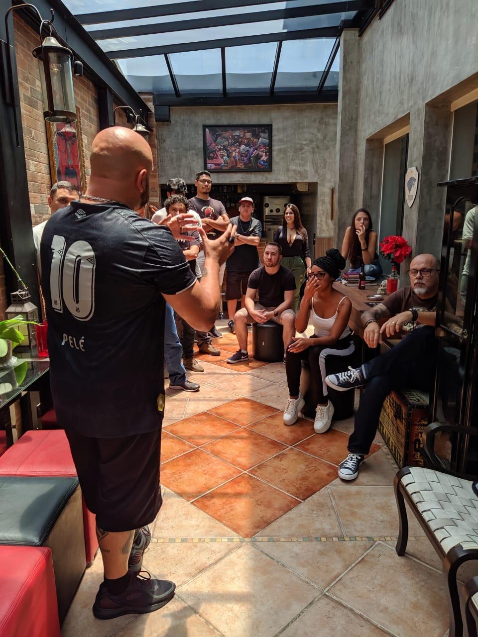 Turma do Workshop, em São Paulo