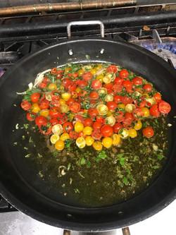 Spaghettoni Cavalieri preparation
