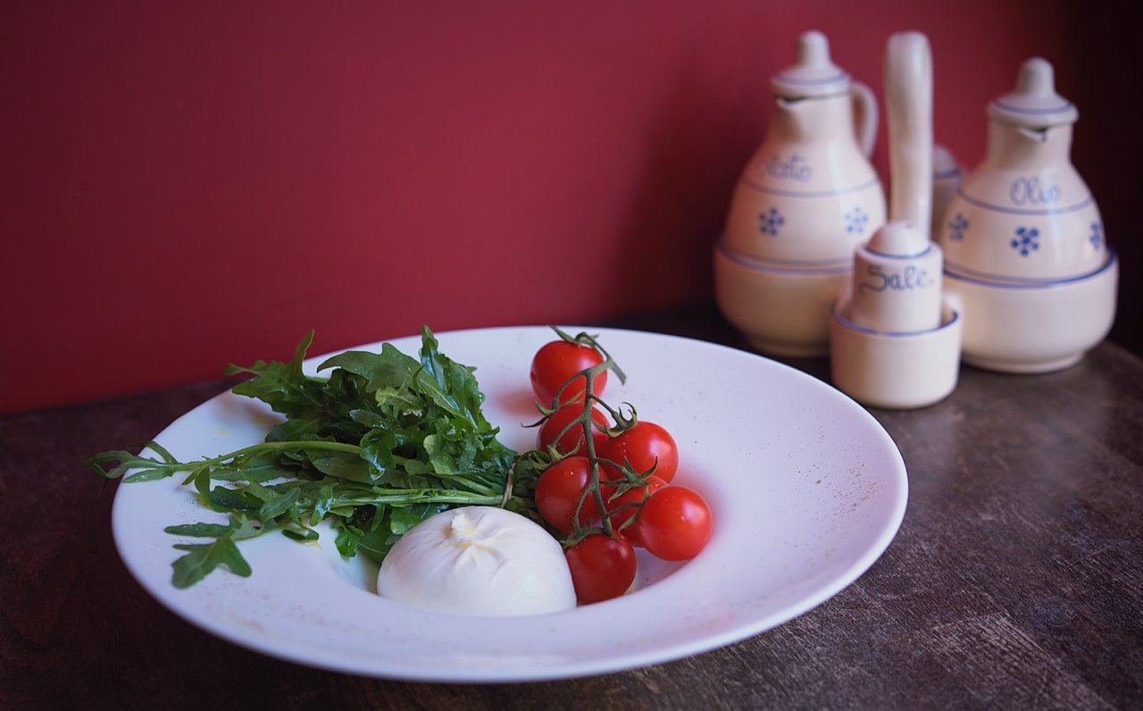 Traditional Burrata from Puglia