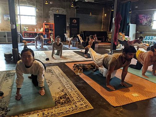 yoga newtown