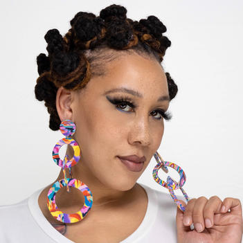 Lolipop Dangle Earrings