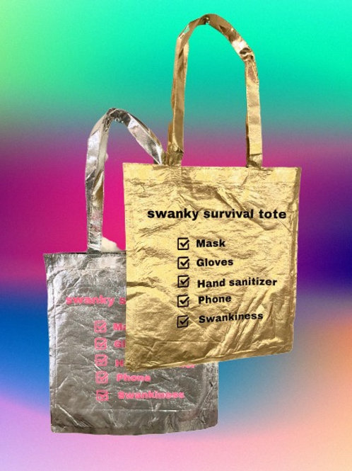 SWANKY SURVIVAL TOTE