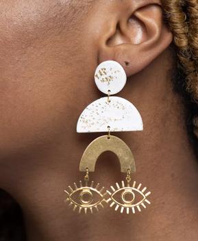 Kaleesa Earrings