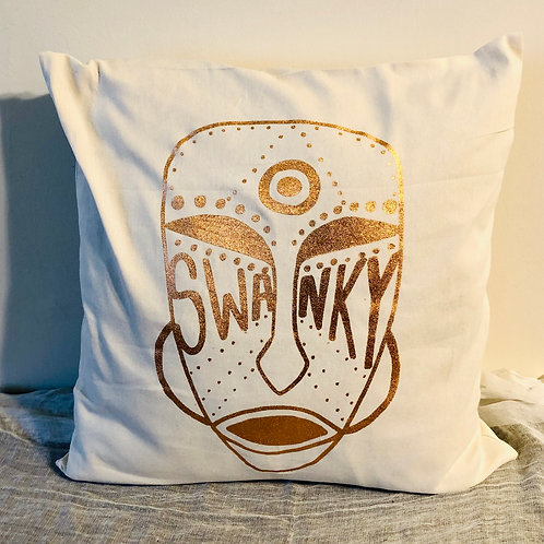 SWANKY TRIBAL PILLOW COVER