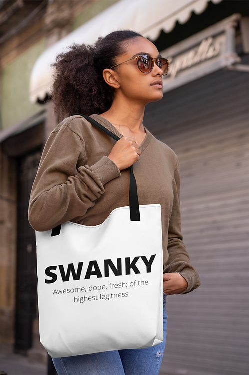 SWANKY DEFINITION TOTE