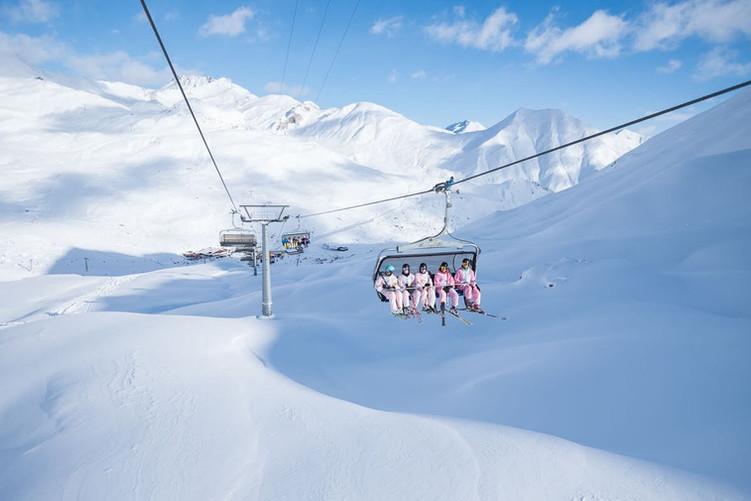 Winter in Samnaun