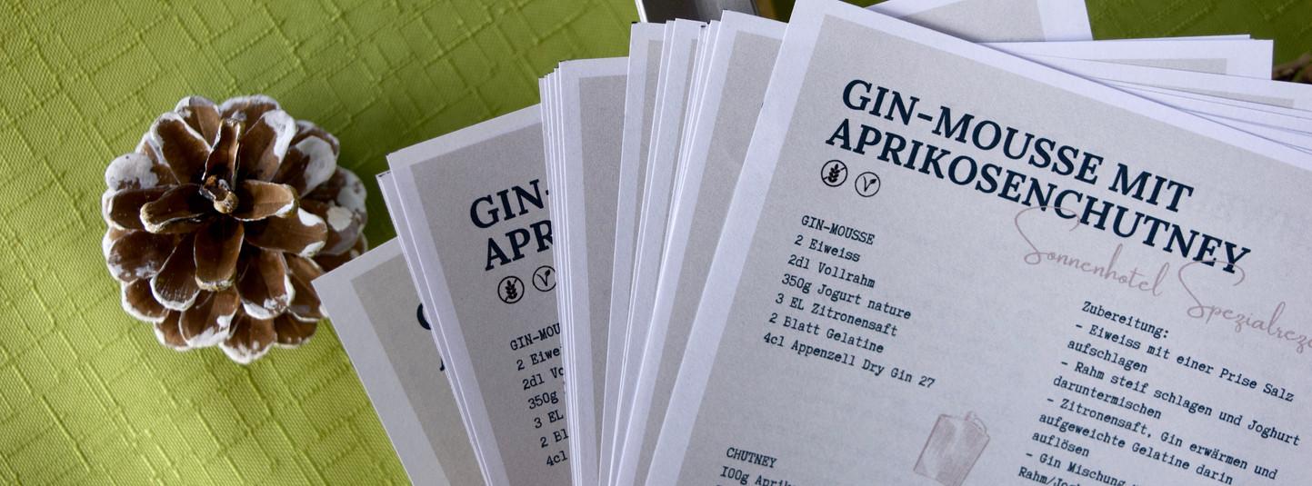 Gin-Mousse Rezept