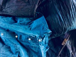 『藍と墨』染め替えで再生
