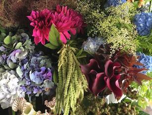 "1day""紫陽花""flower shop@bollard"