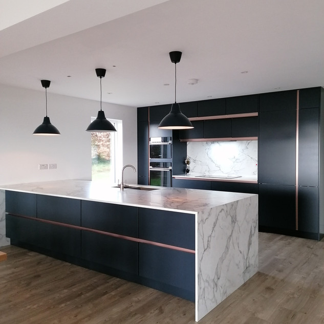 Kitchen Designed alongside Tamar Trading