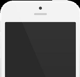 Miami Mobile phone graphic white