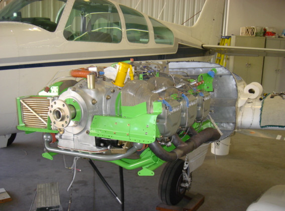 Left Engine