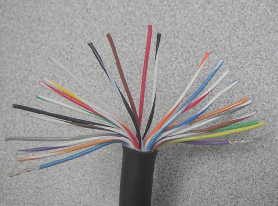 Coil Cord 24 Conductors