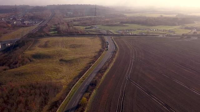 Drone Footage | Foggy Morning