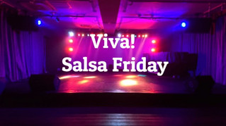 11月30日(金)Viva! サルサ・フライデーがスタートします!!