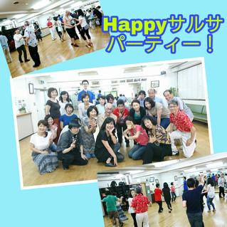 昨日は荻窪Happyサルサパーティーでした!