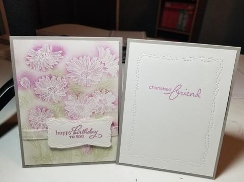 Daisy Garden Birthday Card