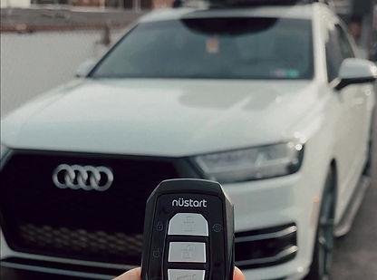 Remote Start: 2017 Audi Q7