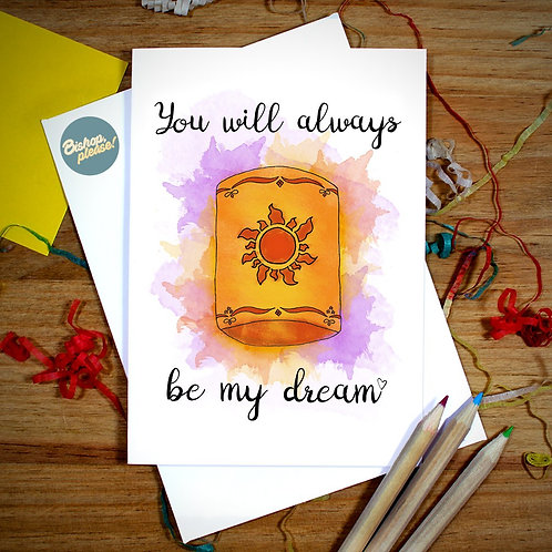 My Dream - Card