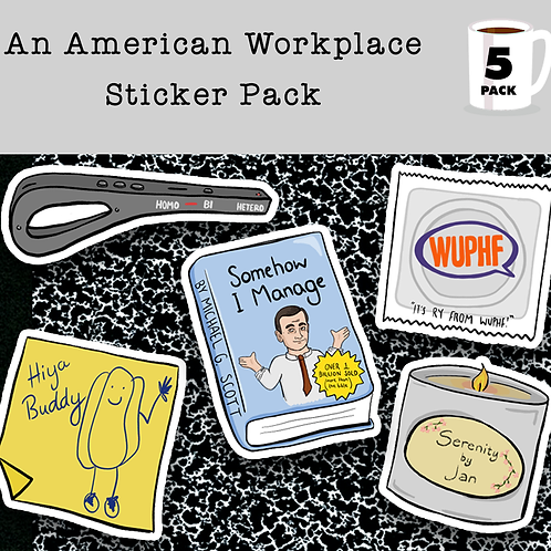 An American Workplace - Sticker Pack