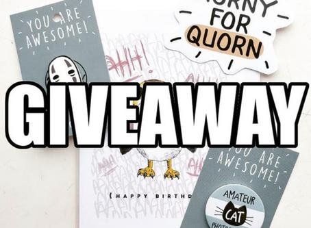 Giveaway On Instagram!