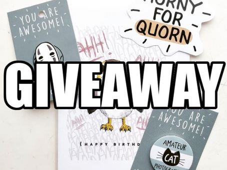 Giveaway On Instagram!
