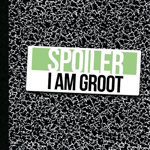 I Am Groot - Sticker