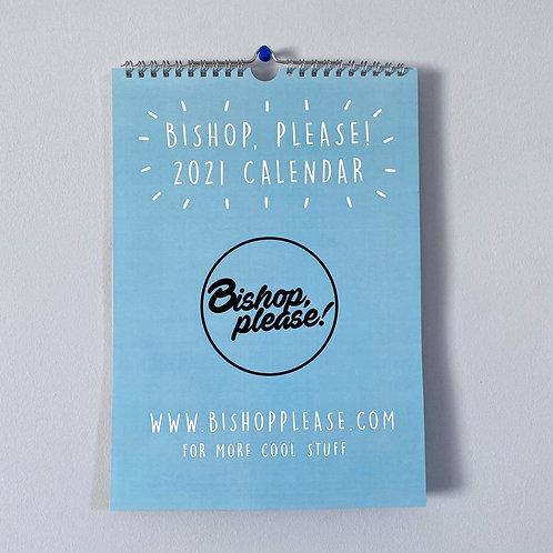 2021 - A4 Wall Calendar