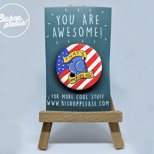 Captain Ass - Badge