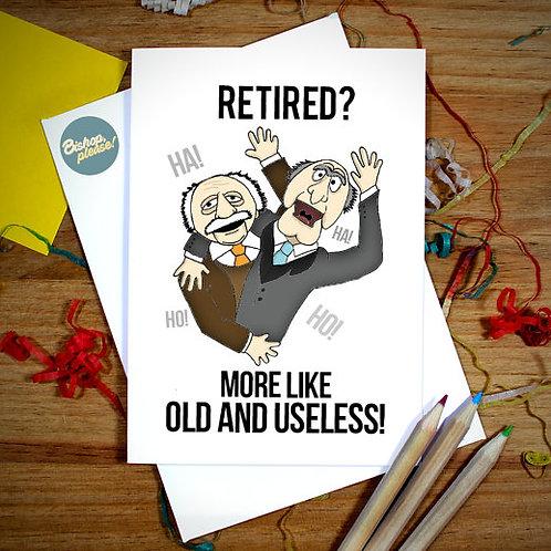 Retired - Card