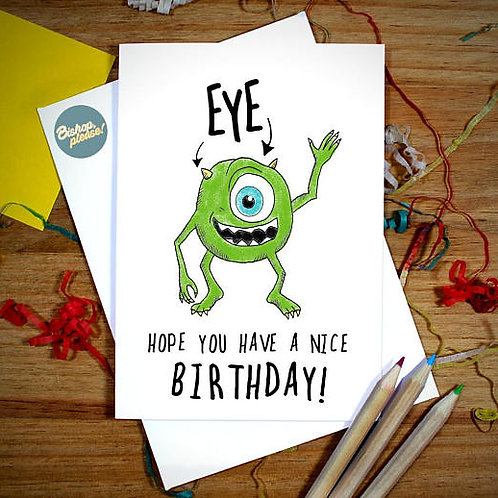 Monster Birthday - A6 Card