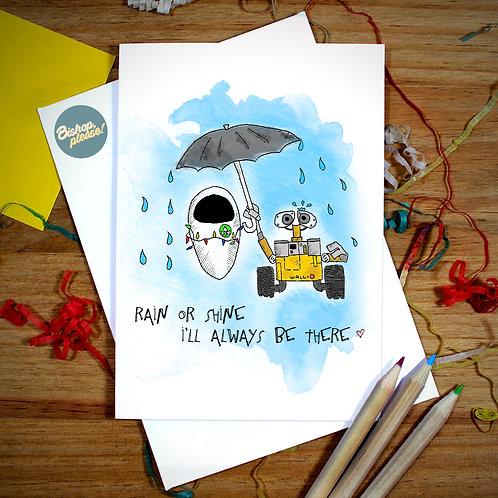 Rain Or Shine - A6 Card
