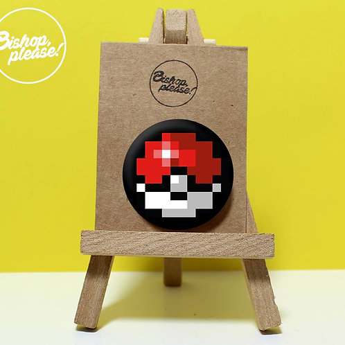 Pixel Ball - Badge