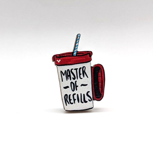 Master Of Refills - Pin