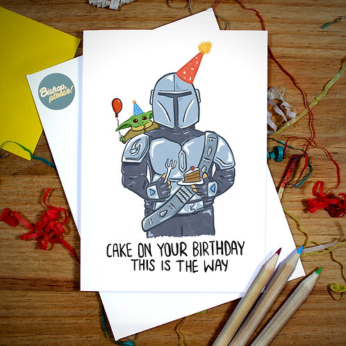 This Is The Way - A6 Card