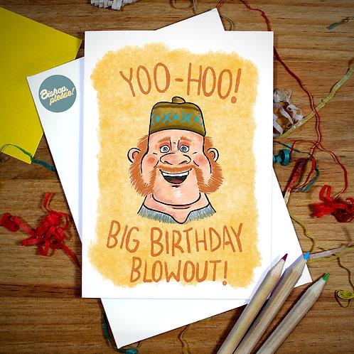 Big Birthday Blowout - A6 Card