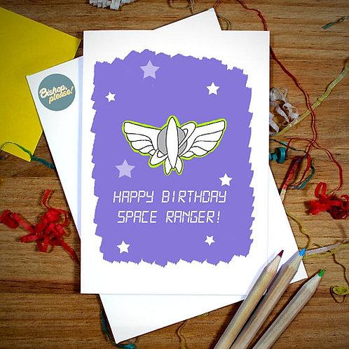 Space Ranger - A6 Card