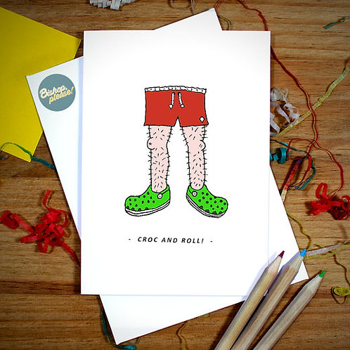 Croc & Roll - Card
