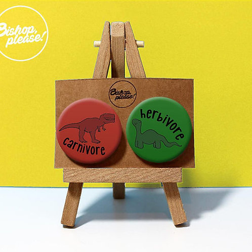 Herbivore & Carnivore - Badges