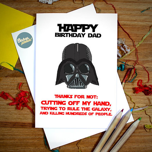 Vader Dad - Card