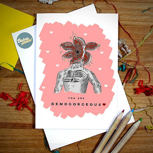 Demogorgeous - A6 Card