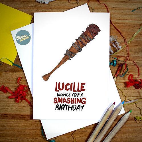 Smashing Birthday - Card